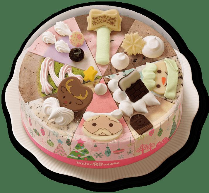 サーティワンクリスマスアイスケーキクリスマスパレット8