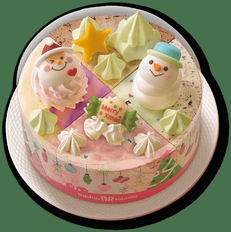 サーティワンクリスマスアイスケーキクリスマスパレット4