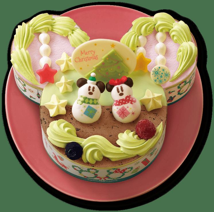サーティワンクリスマスアイスケーキミッキー&ミニートゥインクルリース