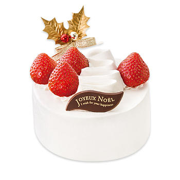 不二家クリスマスケーキあまおう苺のクリスマスショートケーキ