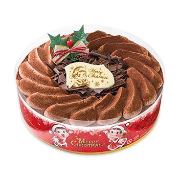 不二家クリスマスケーキクリスマスチョコ生ケーキ(S・M・L)