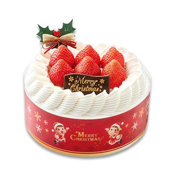 不二家クリスマスケーキクリスマス苺のスペシャルショートケーキ(SS・S・M)