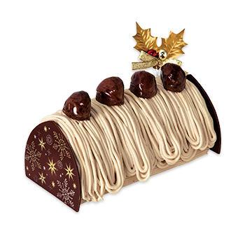 不二家クリスマスケーキ熊本県産和栗のプレミアムクリスマスモンブラン