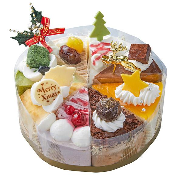 シャトレーゼクリスマスケーキXmasアソートデコレーション