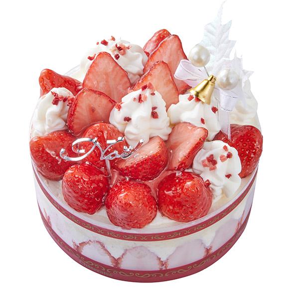 シャトレーゼクリスマスケーキXmasプレミアム苺デコレーション